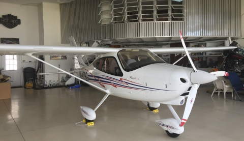 2015 AVIA TECHNAM P2008 TURBO LSA N647BG
