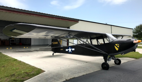 1943 TAYLORCRAFT L-2M N49193