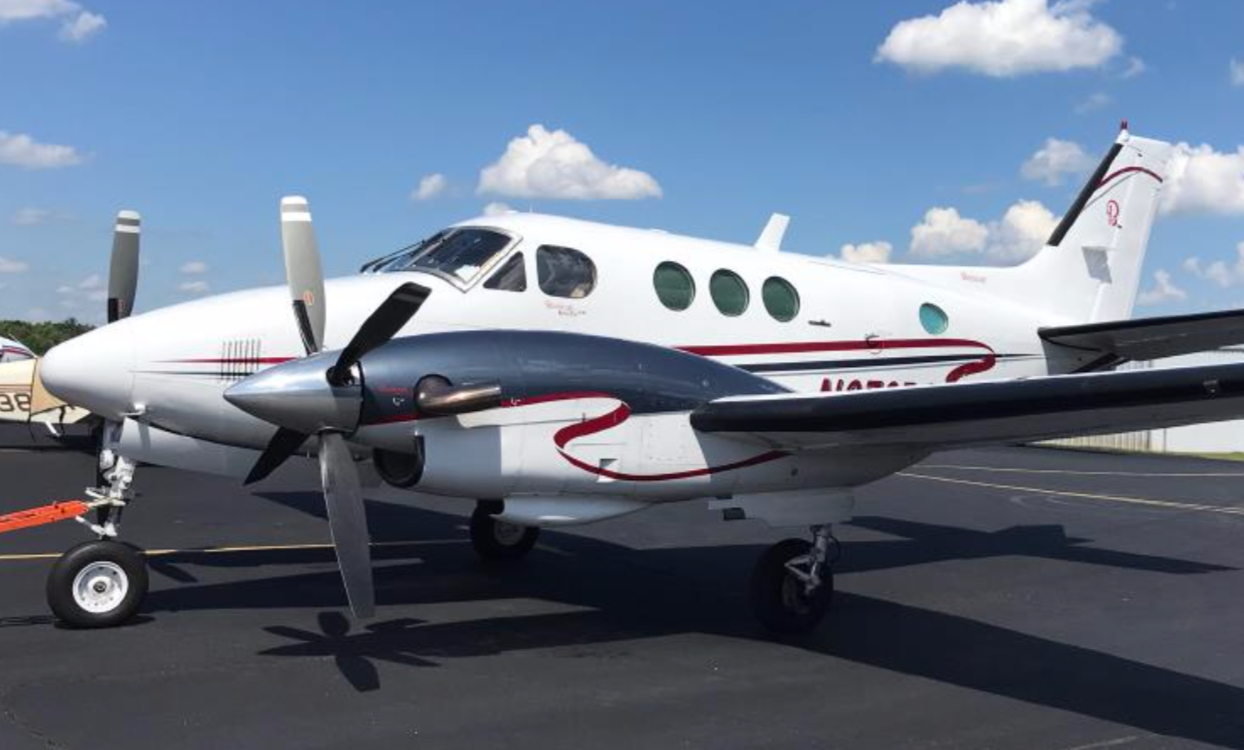 1977 King Air C-90  Raisback  N#X